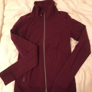 RARE maroon lululemon jacket